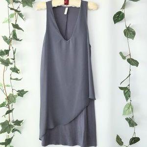 GXF Gentle Fawn Paloma dress in dark grey sz M